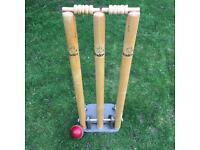 Cricket Stumps - Spring loaded