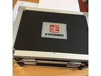 SE Electronics TITAN - Multipattern Condenser Microphone - With Flight Case & Accessories