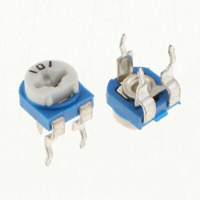 20pcs 100 Ohm 101 Resistor Trimmer Potentiometer Rm065 - Us Seller