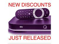 DISCOUNTED DEALS SKYQ INSTALLATION - UK WIDE SKY TV - UPDATE
