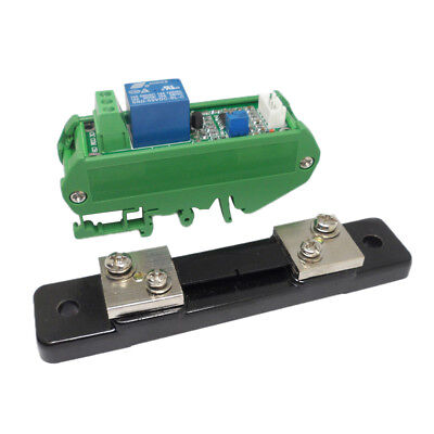 50a Switch Output Dc Current Sensor Detection Module With Base 5-24v
