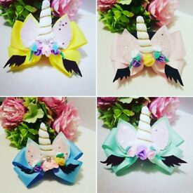 Creative Hair Bow 100% handmade
