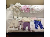 Baby Girl Clothes – 3-6 months – Bundle 2 - Good condition