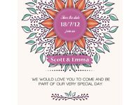 Handmade & Printed Bespoke wedding stationery, Invitations, Save The Dates, Table Plans & Much more.