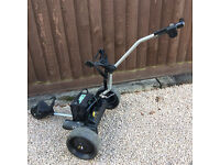 POWER KADDY ELECTRIC TROLLEY WITH BATTERIES GOOD CONDITION £50.00 (no offers)