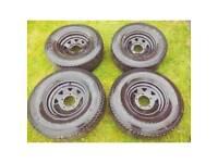 Land Rover Defender Steel Wheels & Tyres