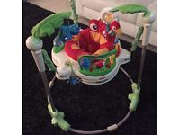 Fisher price Jumperoo excellent condition with box