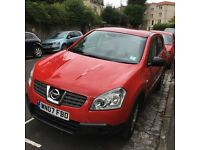 Nissan Qashqai Visia 2WD, Red, 2007, 1.6, hatchback, petrol, offers considered