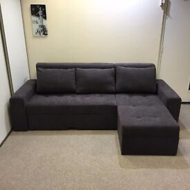 "New Corner Sofa Bed ""CORONA"" with storage"