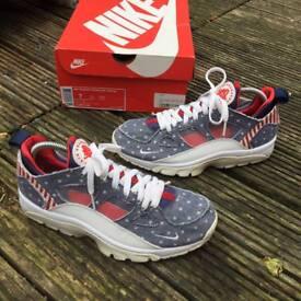 Nike air huaraches USA denim trainers