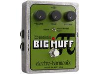 Electro-Harmonix Bass Big Muff Pi Fuzz Pedal - Brand new & Boxed