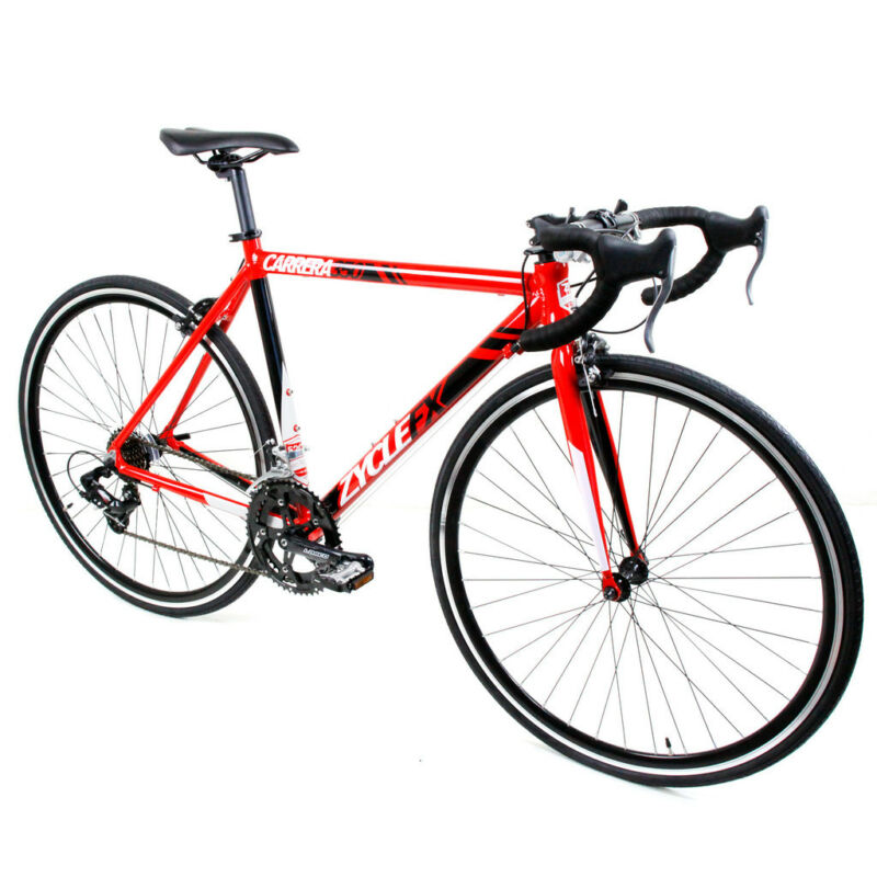 Carrera 350 Road bike 14 speed Alloy Frame Red Size: 48 52 55 59cm