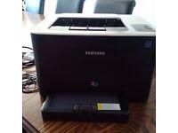 Samsung CLP-325 Colour Laser Printer with spare cartridge