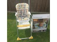 Joie Mimzy Snacker Highchair - Ollie the Owl