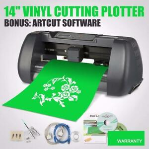 NEW 14 VINYL CUTTER SIGN CUTTING PLOTTER SIGN CUTTING MACHINE  CUT14
