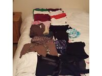 Fantastic collection of maternity clothes for sale, all size 12, immaculate condition
