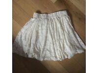 Cream Atmosphere skirt