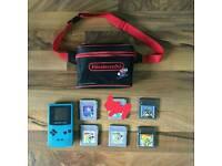 Gameboy colour bundle teal.