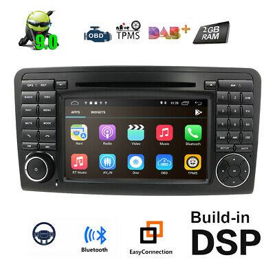Carplay Android 10.0 Autoradio GPS Navi für Mercedes Benz W164 ML300 X164 GL320