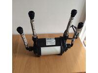 Almost new Stewart Turner 1.5 bar twin pump