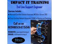 CCNA (R&S) , MCSA Windows Server 2012 R2 Training Stratford