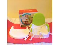 Fisher price seat with tray