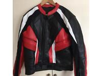Motorbike Leather Jacket & Trousers