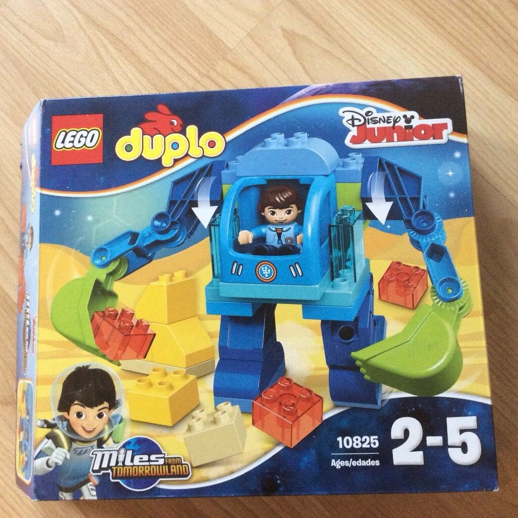 Lego Duplo Miles From Tomorrow Complete Set 10825 With Box