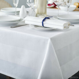 Madrid Satin Band Tablecloth