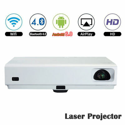 Best Home Theater DLP Laser Projector Full 3D Wifi HDMI 1080P LED