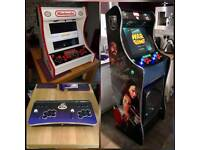 Custom Built Arcade Machines, loads of games and features ready to play.