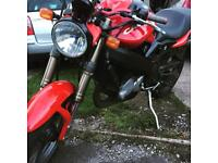 Cagiva raptor 125 2stroke full power. Not Aprillia rs125