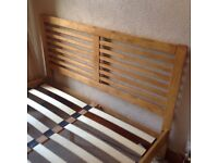 Double Esther Wooden Bed Frame