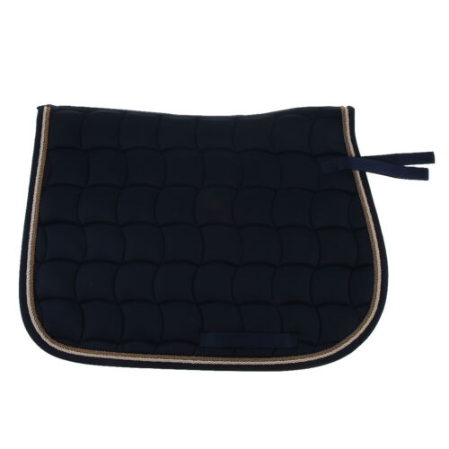 Cotton English Half Horse Saddle Pad for Jumping, Riding, Tr