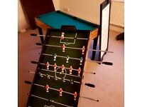 5 in 1 games table. Football, snooker, ive hockey, billiards