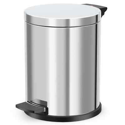 Hailo Pedal Box M 12L Stainless Steel with Galvanized Inner Dustbin Bathroom