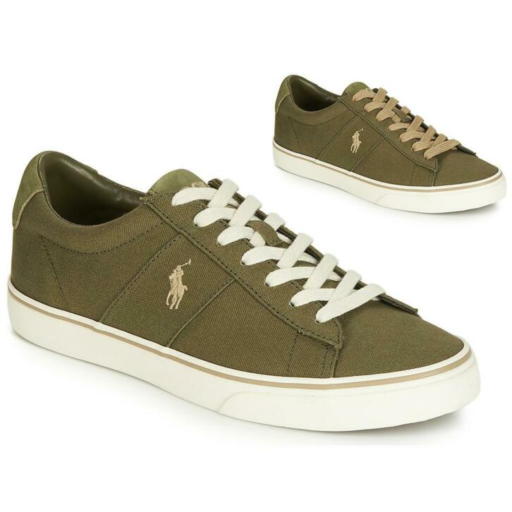 Ralph Sneakers Sayer Lauren Groen Polo yONnm8v0w