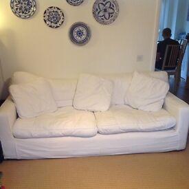 2 seat and 3 seat sofa