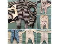 Baby boy bundle 0/3 months