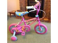 "FIFI and the Flower Tots 10"" BIKE in very little used condition still in original makers carton."