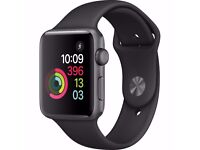 Apple Watch Series 2, Sport Band, Space Grey, brand new, still in the box.