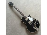 GRETCH USA DUO JET G6128T-57 RE-ISSUE, BLACK, 1989, STUNNING CONDITION