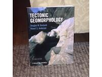 3 Geography text books (degree level)