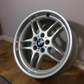 "18"" Genuine BMW M-Parallel Wheel - GOOD CONDITION - 36.11-2229730"