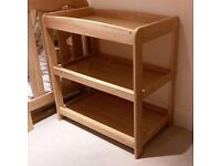 Mamas & Papas wooden changing table