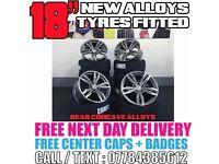 """NEW SET 18"""" BMW ALLOYS + TYRES - FIT ALL BMW SEARCH M3 M4 M5 M6 1M E90 E91 E92 E93 313 F10 F11 F30"""