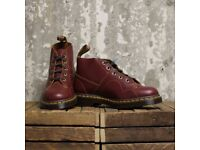 DR MARTENS CHURCH BOOTS (Oxblood/Red)
