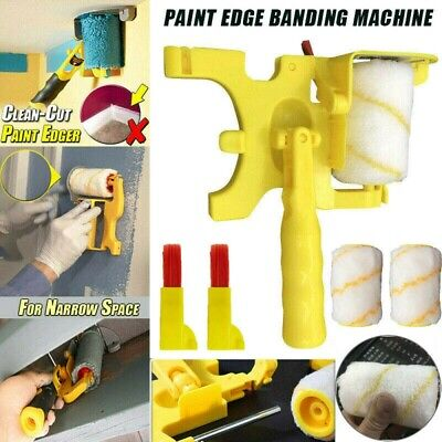 Clean-Cut Paint Edger Roller Brush Safe Portable Fit For Room Home Wall Ceilings