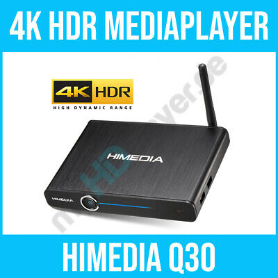 HIMEDIA™ Q30 4K (Ultra HD) HDR10 & 3D Android Mediaplayer Smart TV Box / Mini PC