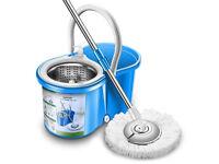 Microfiber 360 Spin Mop and Bucket Floor